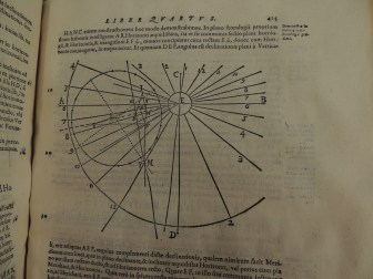 Diagram from Clavius' Gnomonices Libri Octo, page 425