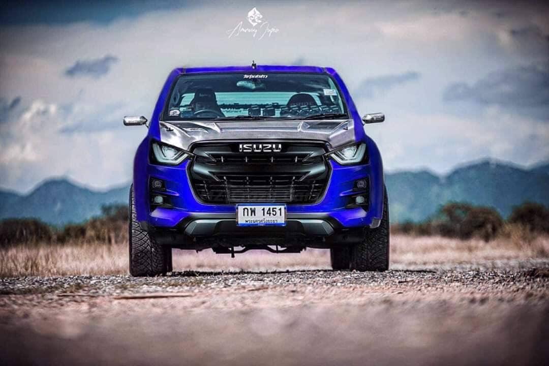 all new isuzu d max 2020 dark blue