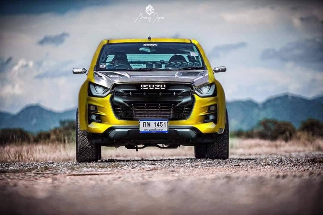 all new isuzu d max 2020 yellow
