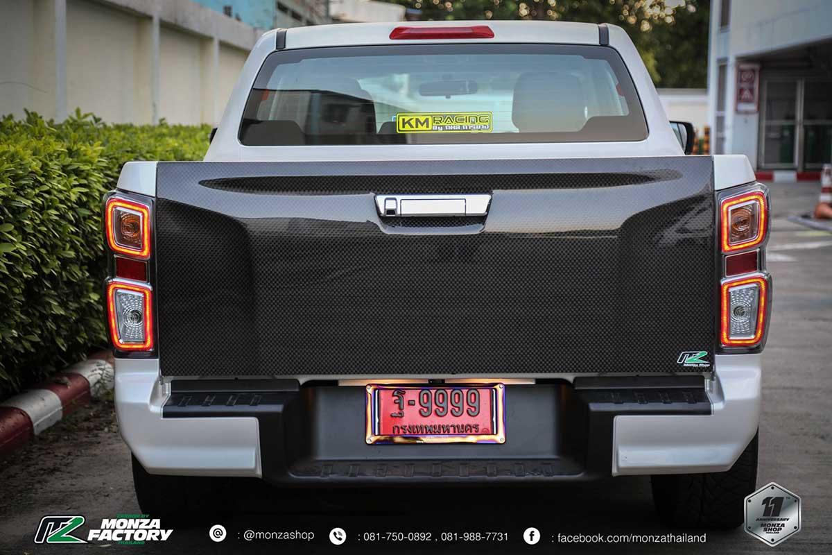 all new isuzu dmax front black 09