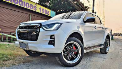 all new isuzu dmax hi lander white kumho 03