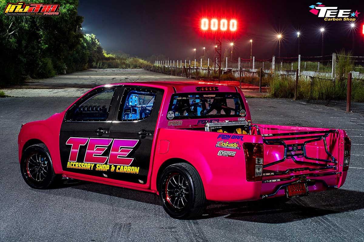 all new isuzu dmax 2020 face pink 010