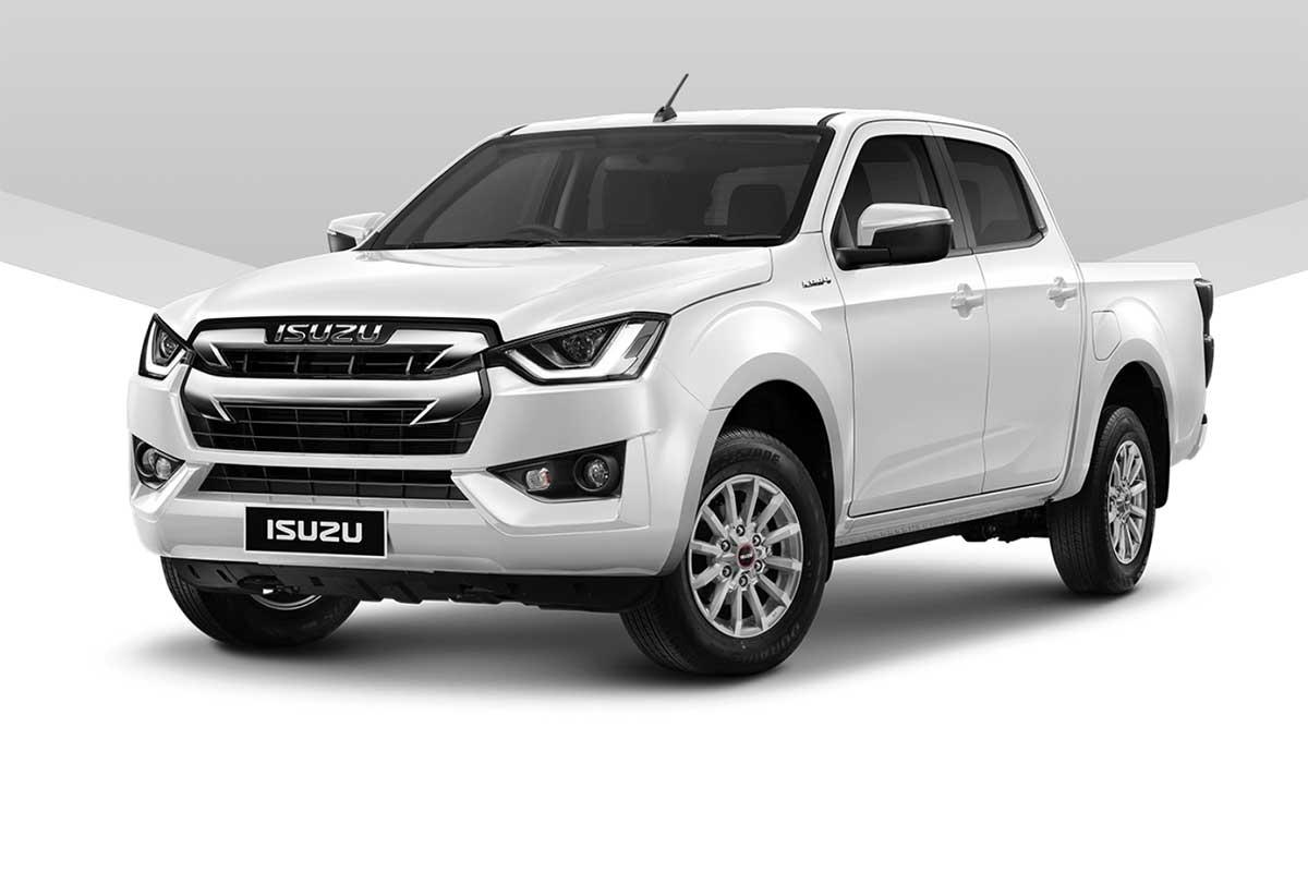 all new isuzu dmax cab4 1 9 l white exterior 1