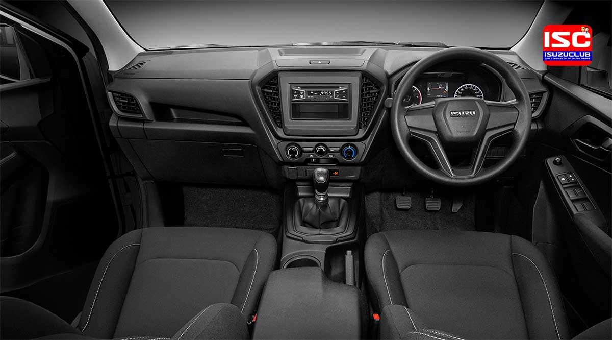 all new isuzu dmax cab4 1 9 s interior