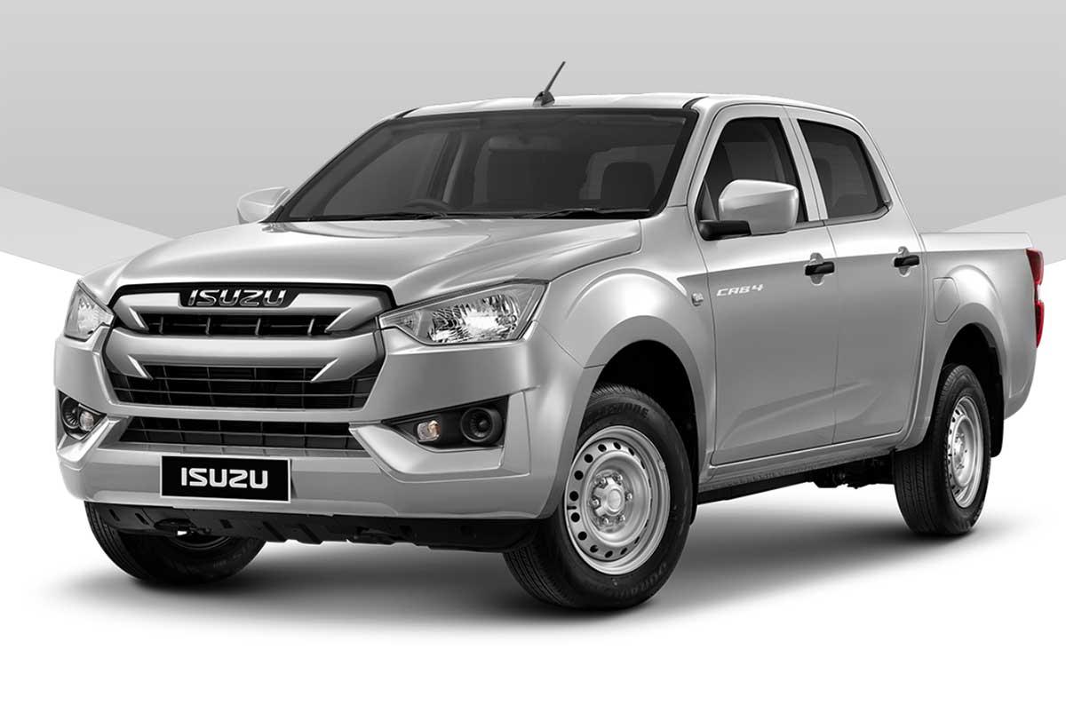 all new isuzu dmax cab4 silver