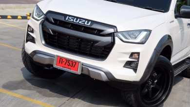 Photo of All new ISUZU D-MAX V-Cross สไตล์ Black and White ล้อ Cosmis ลายฮิต