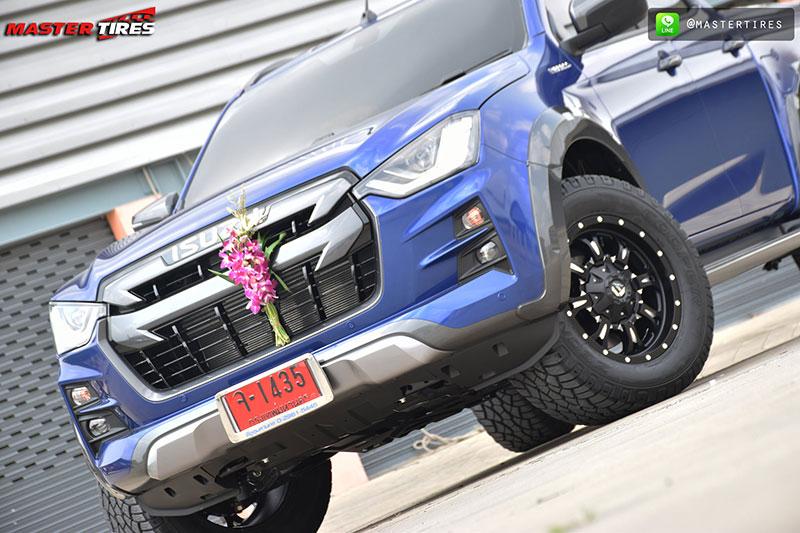 all new isuzu dmax vcross blue 01