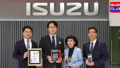 isuzu got 4 awards