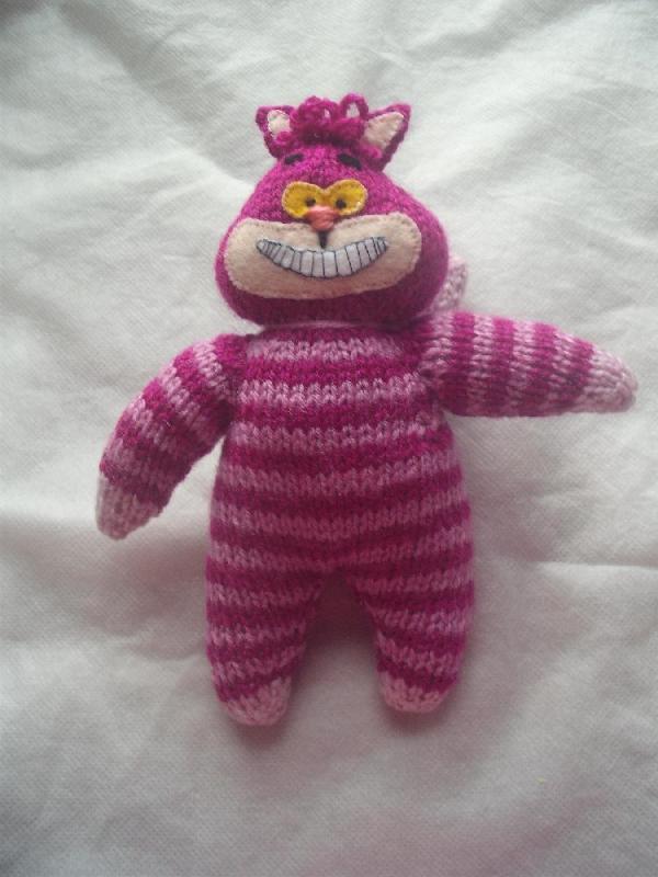 free cat knitting patterns # 77