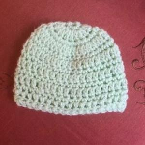Crochet Amp Knit Newborn Caps In Red Heart Anne Geddes Baby