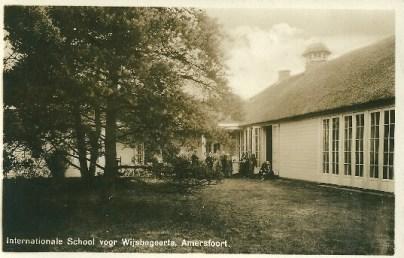 Ansichtkaart van de ISVW (rond 1920)