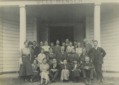 Cursisten rond 1920