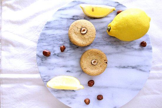 檸檬榛果餅乾