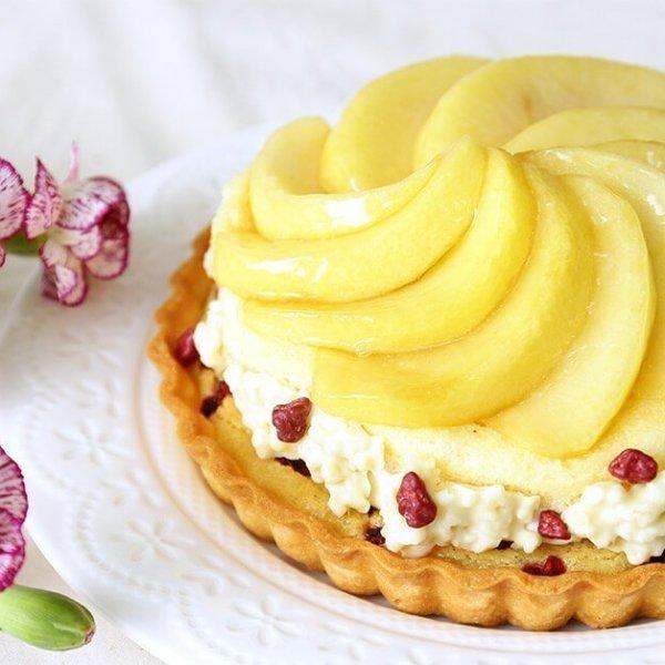 華盛頓蘋果塔 - iSweets patisserie 愛甜食