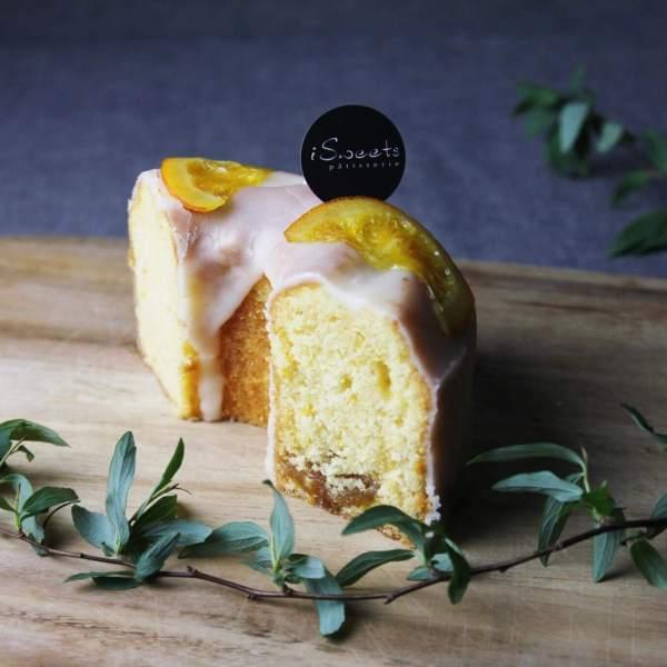 橙意滿滿 | 香橙鳳梨磅蛋糕 | 2018母親節蛋糕預購 | iSweets Patisserie 愛甜食