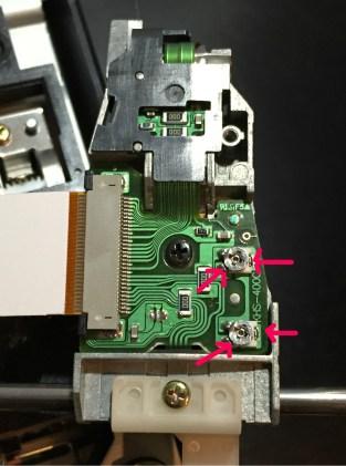 ps2 laser adjust