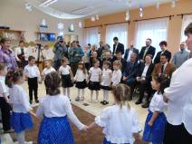 2016 január, a Magyar Kultúra Napja, az óvoda új termének átadó ünnepsége