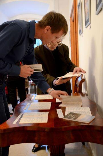 2016 októbere, Finnugor Biblia Kiállítás megnyitója