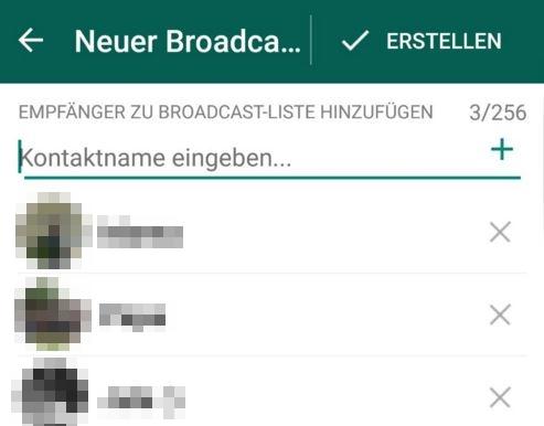 Whatsapp Mehrere Leute Gleichzeitig Anschreiben It Antwortde