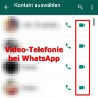 Video-Telefonie