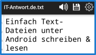 Text-Dateien