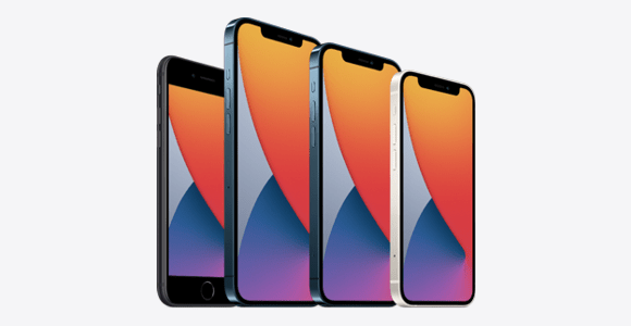iPhone 12, iPhone 12 Mini, iPhone 12 Pro und iPhone 12 Pro Max