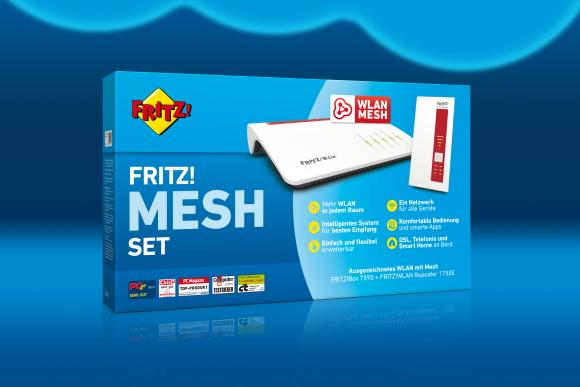 Marktstart von FRITZ! Mesh Set