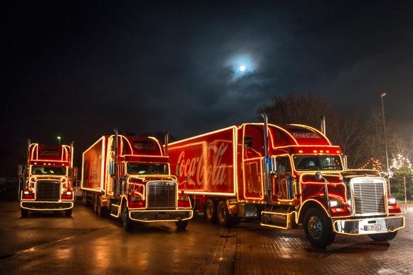 Coca-Cola Weihnachtstrucks Tour 2018