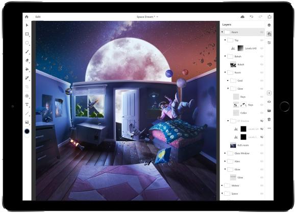 Photoshop CC für das iPad