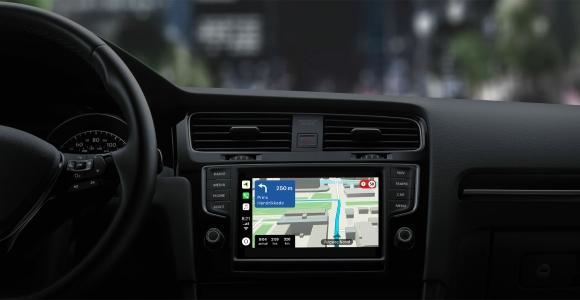 TomTom Navigation App auf Apple CarPlay