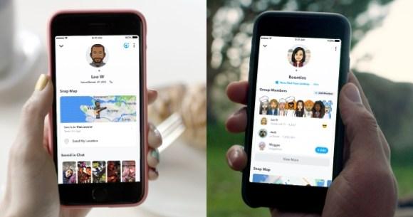 Freundschaftsprofil von Snapchat