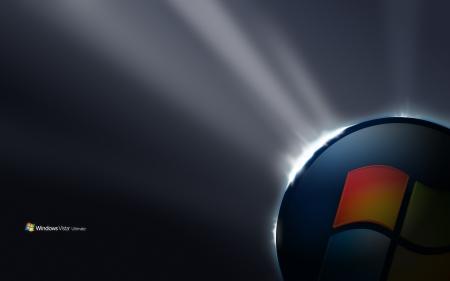 Windows Vista Ultimate-Start Wallpaper