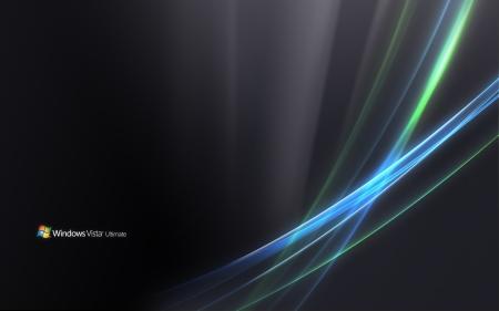 Windows Vista Ultimate-Strands Wallpaper