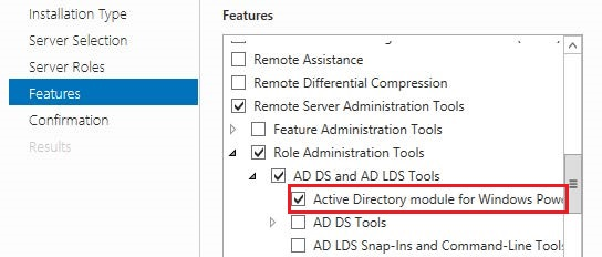 Module Active Directory