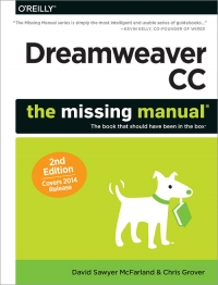 Dreamweaver CC: The Missing Manual, 2nd Edition