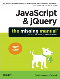 JavaScript & jQuery: The Missing Manual, 2nd Edition