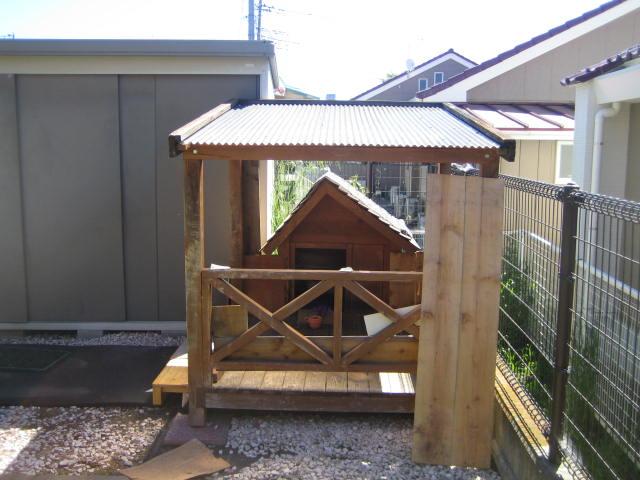 犬小屋の解体撤去処分 群馬 富岡