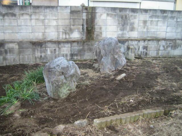 群馬県前橋市 庭石撤去と片付けをお願いします・・・