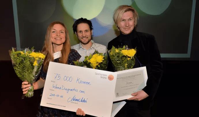 Framtidens innovationer prisades i Lund