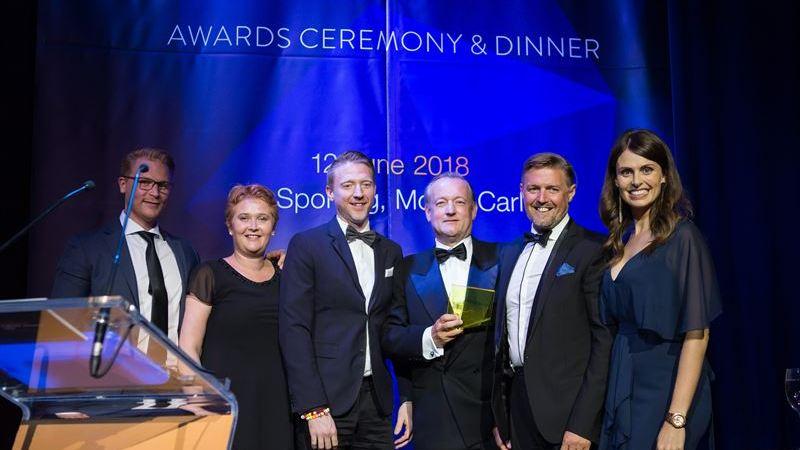 DigiPlex vinner två priser, bästa energieffektiva innovation och årets marknadsförare