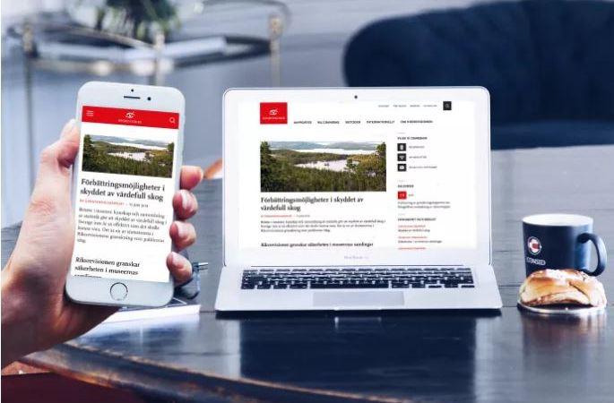 Tusentals rapporter fick nytt hem när Riksrevisionen fick ny webbplats