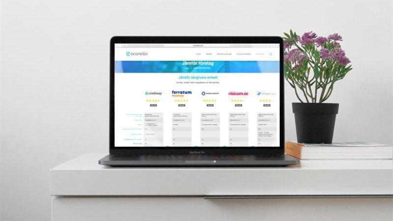 Nu är det ännu enklare att jämföra lån hos Econello.com