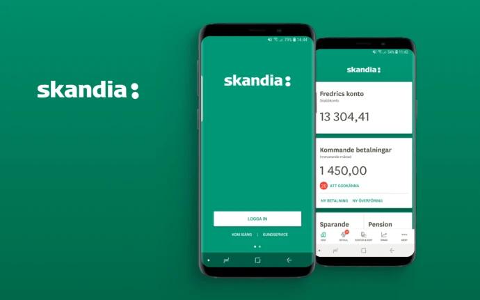 Smart Refill ger Skandiabankens prisbelönta mobilbank ny kostym