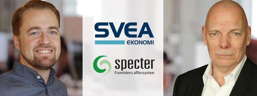 Svea Ekonomi och Specter satsar på friktionsfri lösning för e-handlare