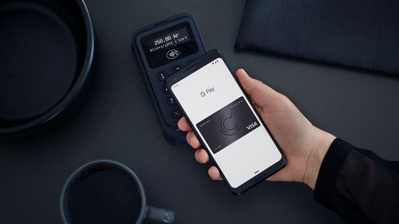 Idag lanseras Google Pay till Volvofinans Banks kunder