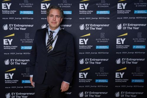 Pär Svärdson kan utses till världens främsta entreprenör 1