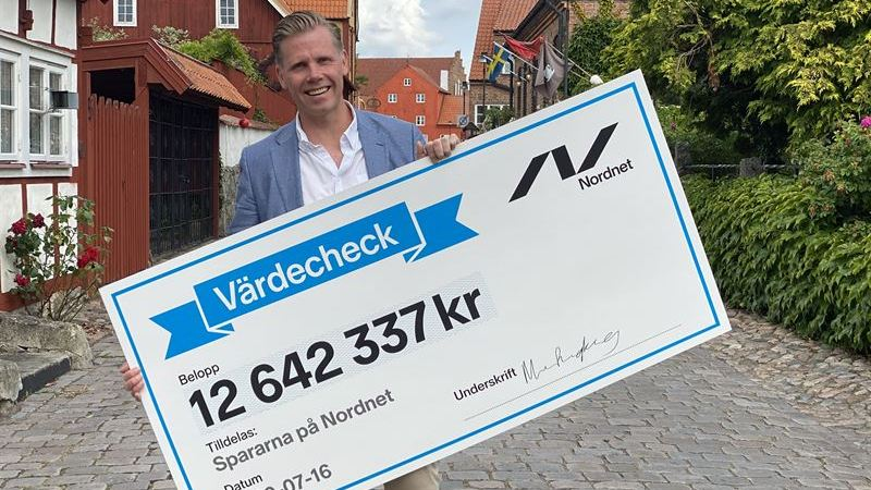 Rekordhög återbäring i Nordnets aktielåneprogram
