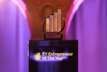 De tog hem priset som Stockholms främsta entreprenörer 1