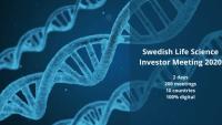 Digitalt investerarevent drar hundratals till möten med svenska life science bolag