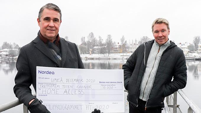 Digitala nycklar prisas i Nordeas startuptävling